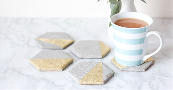 How To Make Your Own Cement Coaster Wedding Favours