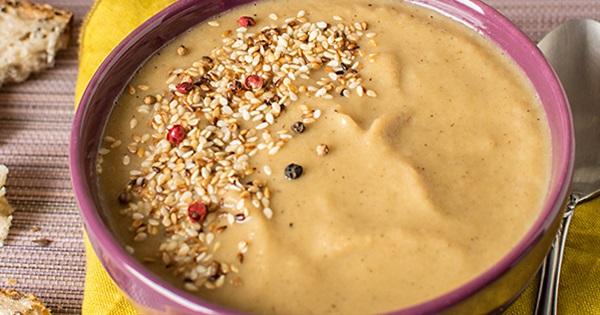 Roasted Parsnip Creamy Soup