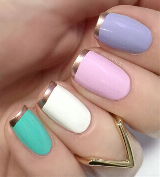 18 Beautiful French-Style Nail Art Ideas You Must Love
