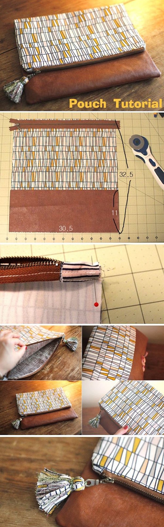 5 Easy Tutorials To Make Your Own Cute Purse