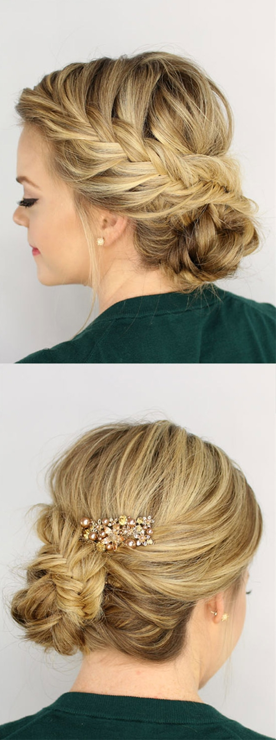 8 Gorgeous Braided Updos You Must Try