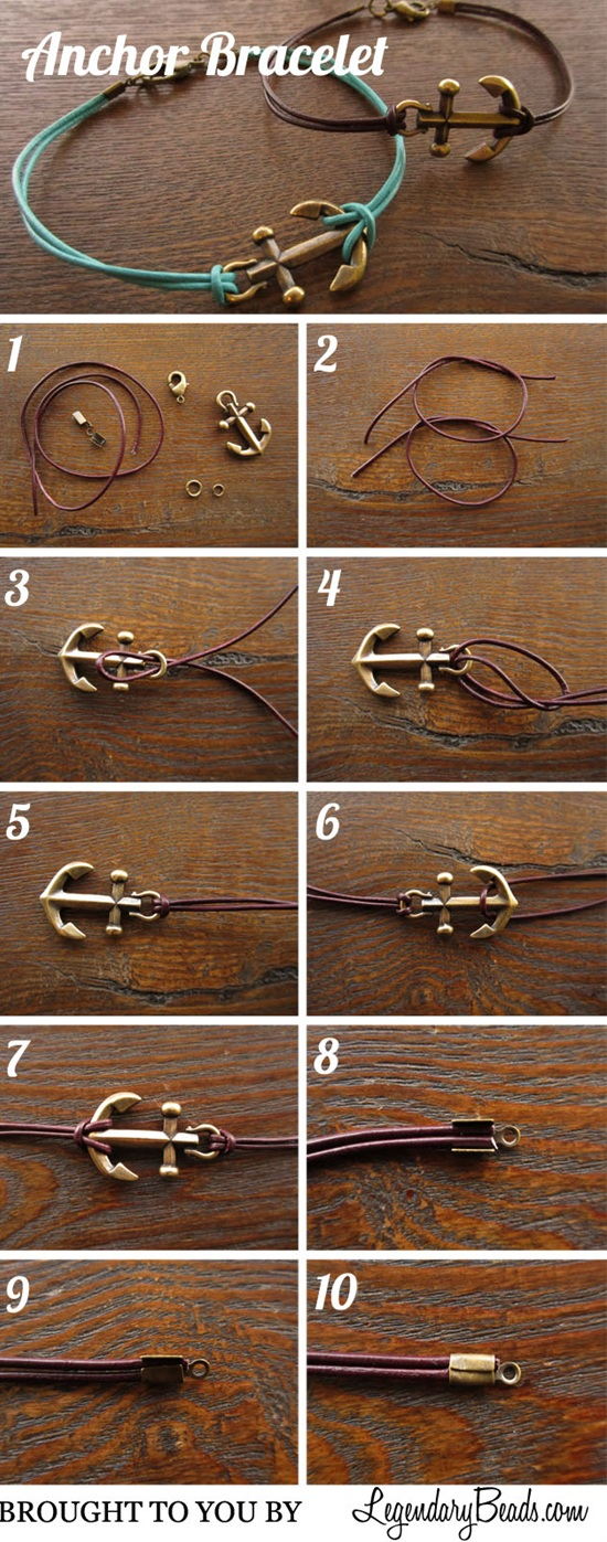 10 Easy & Beautiful Bracelet Tutorials