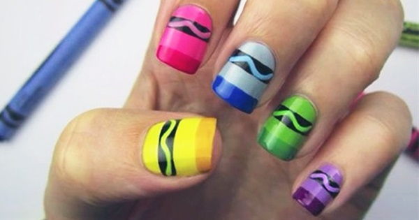 10 Nice & Easy Nail Art Tutorials For Beginners