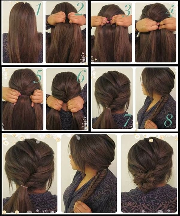 I love this hair style.  It could be used for homecoming, prom and even a wedding.