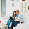 Stylish Anniversary Shoot at Home