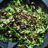 Arugula, Dried Cherry and Wild Rice Salad with a Zippy Lemon Dressing