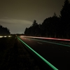 Daan Roosegaarde's pilot Smart Highway is a Dutch road illuminated with solar power