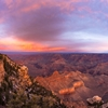 Sunset over the Grand Canyon by Brian Matiash