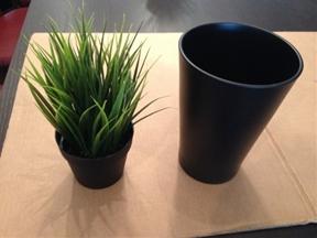 Fejka + Papaja = PAPAJKA tall potted plant hack