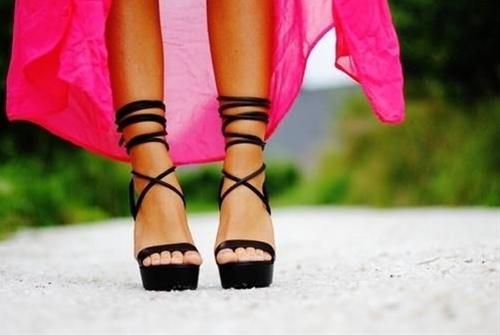 classy black heels