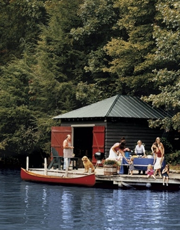 Lake Lure, North Carolina: I am dying to spend some time at a wooded lake that I can swim in!