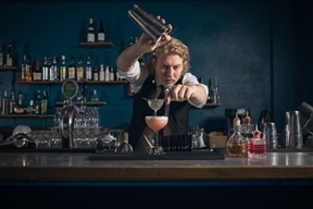 The Bartender by Rasmus Kongsgaard