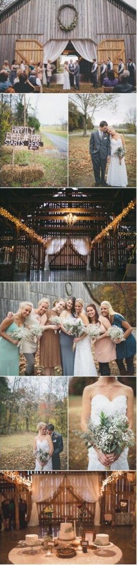 We are so excited to start off this new year with a bang which comes in the form of this amazing wedding. Taking place at a Kentucky rustic wedding venue called The Barn At Cedar Grove this wedding has some of the most magical wedding moments and breathtaking design elements you will see.