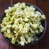 Matcha and White Chocolate Popcorn