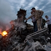 Malaysian jet crashes in Ukraine