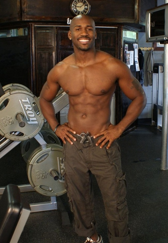 Dolvett from the biggest loser. He has a fabulous body! What an inspiration.