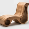 Chair And Chaise Lounge In One - X2 By Giorgio Caporaso
