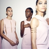 Pretty in pink. Backstage at Cushnie et Ochs #nyfw #madefw c. Kate Owen 2014