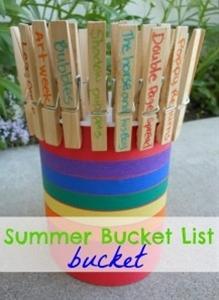 Bucket List Bucket