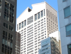 Postmodern buildings: AT&T Building, New York by Johnson/Burgee