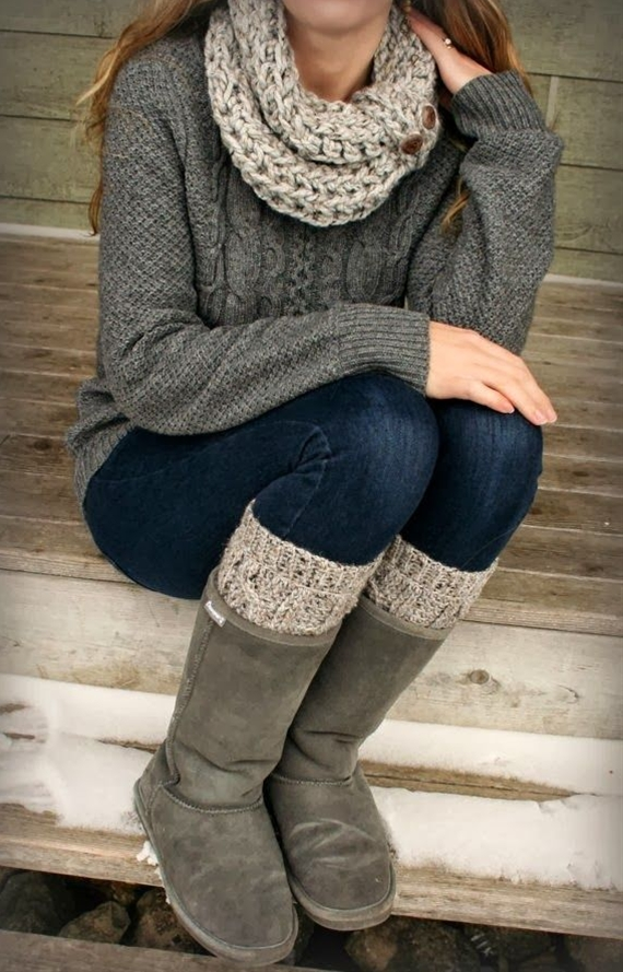 Love the boots, have several pair. Maybe gray was the new best color last year, but I've always been slow to catch on!