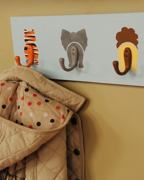 DIY: animal hooks