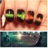 """ My Harry Potter nail art- submitted for the anon asking for inspiration! Instagram: @annajudy517 "" these are awesome! submitted by nailah0lic"