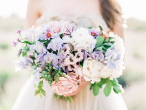 Dreaming in a Lavender Field Wedding Inspiration