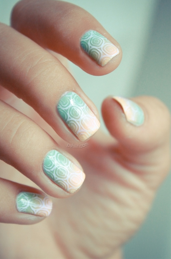 Style by amber dale. perfect nail design for this summer