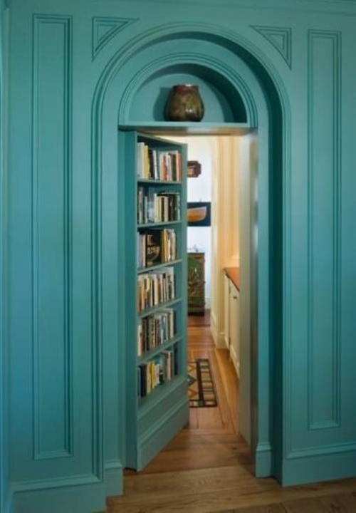 I need one of these!! NO ONE would know but me me me... =) It would have a Wine Cellar/ Jacuzzi/ Soft Music/ Candles, my best reading books.. That&#39;s not asking too much you think? <3
