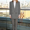"Emma Stone Suits Up in Saint Laurent at ""The Amazing Spider-Man 2″ London Photocall"