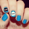 The Fault in Our Stars inspired nail art on thepolishsquirrel.com this week!