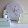 High/Low: Marble Wall Clock
