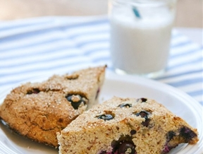 Recipe: Grain-Free Lemon & Blueberry Scones — Recipes from The Kitchn