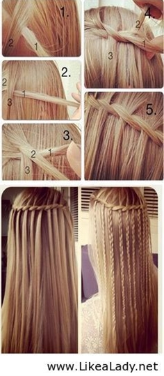 I would curl mine and leave out the braids.