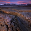 Mud and Cracks of Lake Tekapo by Patrick Marson Ong