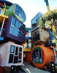 Cool modern houses.