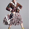 Caroline Trentini Rocks Colorful Fall Fashions for Vogue US by David Sims