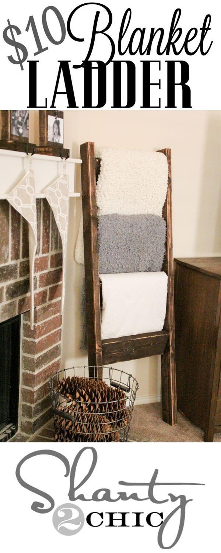 LOVE this Blanket Ladder
