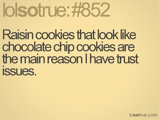 Trust...broken...