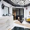 Original Thaï Boxing Hall in Paris Exhibiting a Fresh and Friendly Design