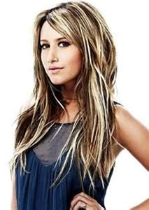Hair color - dark hair with blonde highlights I wish my hair would do ...