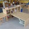 Expedit Preschool Children's Table + Shelving