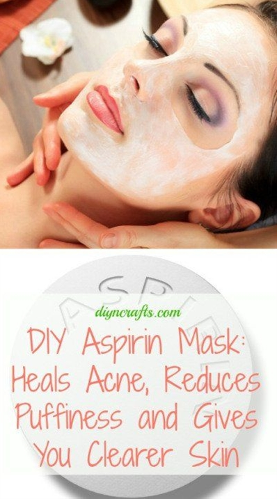 To make your own aspirin mask you just need a bottle of regular aspirin or you can use Goody's or BC Powder which are essentially aspirin with caffeine added. If you are using standard aspirin tablets, just take 3 tablets and dissolve them in a little water.