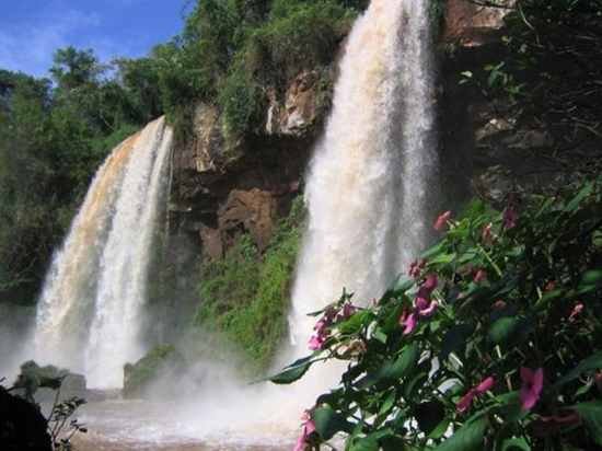 Iguazu Falls, Brazil-Argentina Border
