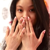 Um, nails with braces backstage at Rachel Antonoff Hair: Cutler...