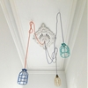 Mix-and-Match Painted Cage Lights from an Aussie Designer