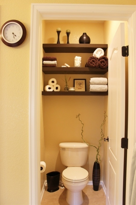 good idea for small bathrooms!