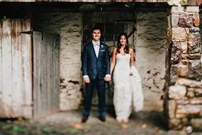 Elegant Country Wedding at Barley Sheaf Farm