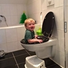 When potty training goes wrong. #9gag